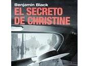 Benjamin Black: secreto Christine