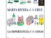 "importancia cosas"", Marta Rivera Cruz (2009)"