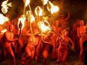 festividad fuego celta.