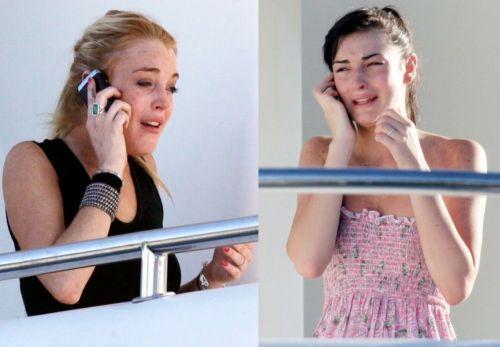 Dos personas hablando por telefono - Imagui