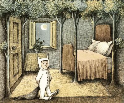 Recomendación álbum ilustrado: 'DONDE VIVEN LOS MONSTRUOS'  de Maurice Sendak