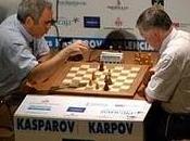 Kasparov derrota Karpov duelo valenciano ajedrez