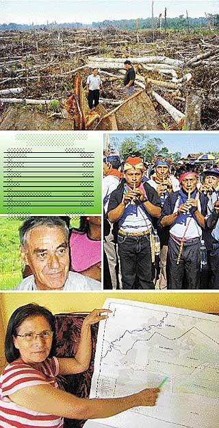 Los poderosos arrasan a las comunidades y la amazonía Peruana