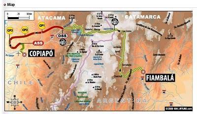Dakar 2010: Etapa 4 - Gordon y su Hummer