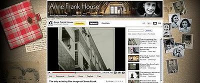 Ana Frank en el balcón