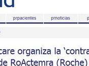 """ACTEMRA: ROCHE """"monta chou"""" Código Ética FARMAINDUSTRIA vacaciones..."""