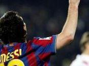Lionel messi alcanzó gritos barcelona