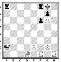 Mate de Damiano, ejemplo complejo en Ajedrez 365
