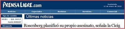 GUATEMALA: Sexo, mentiras, medicinas y cinta de videotape.(III)...