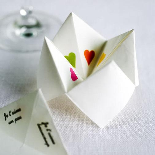 things to write in a paper fortune teller