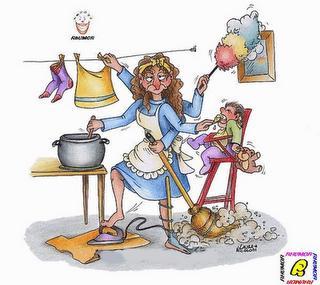 El cuidado de los niños y las tareas domésticas