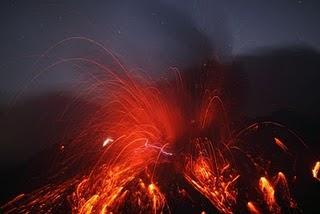 Providencia divina y ceniza volcánica