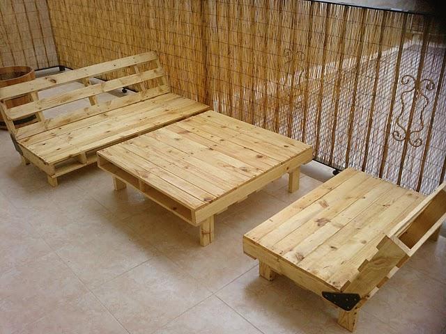 Los muebles de exterior de pal ts de alberto marti paperblog - Comprar muebles con palets ...