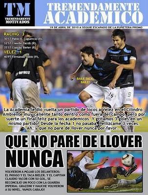 ¡¡QUE NO PARE DE LLOVER NUNCA!!