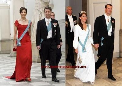 Princesas de  Dinamarca: Mary versus Marie