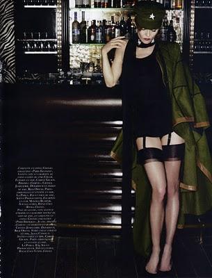 Vanessa Paradis en Vogue Paris de Mayo