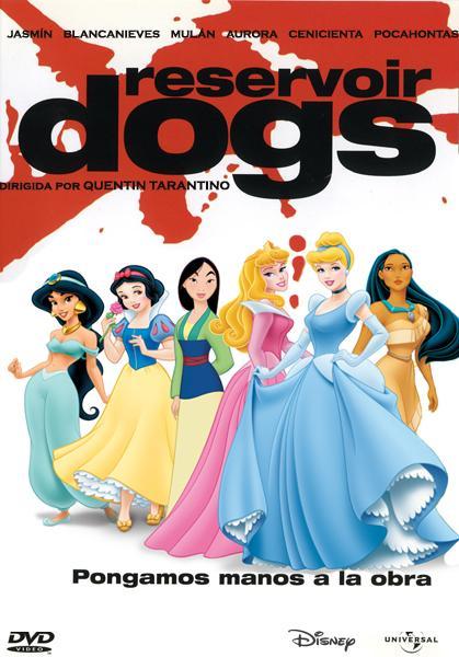 ¿Y si a las princesas Disney las hubiese dirigido Tarantino?