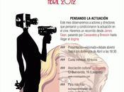 GRUPO ESTUDIO CINEMATOGRÁFICO: ABRIL Pensando actuación