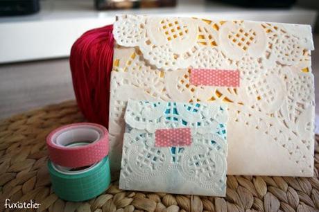 Inspiración con blondas de papel
