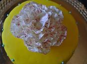 "Tarta primera flor ""Peonia""...."