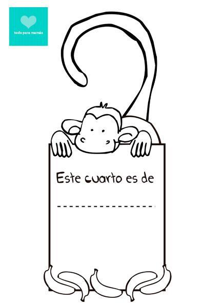 Carteles para la puerta personalizables paperblog - Carteles para puertas habitaciones ...