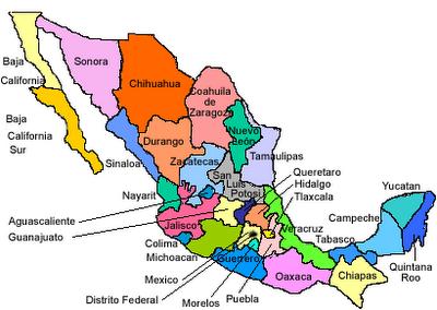 Mapa Polìtico Paperblog
