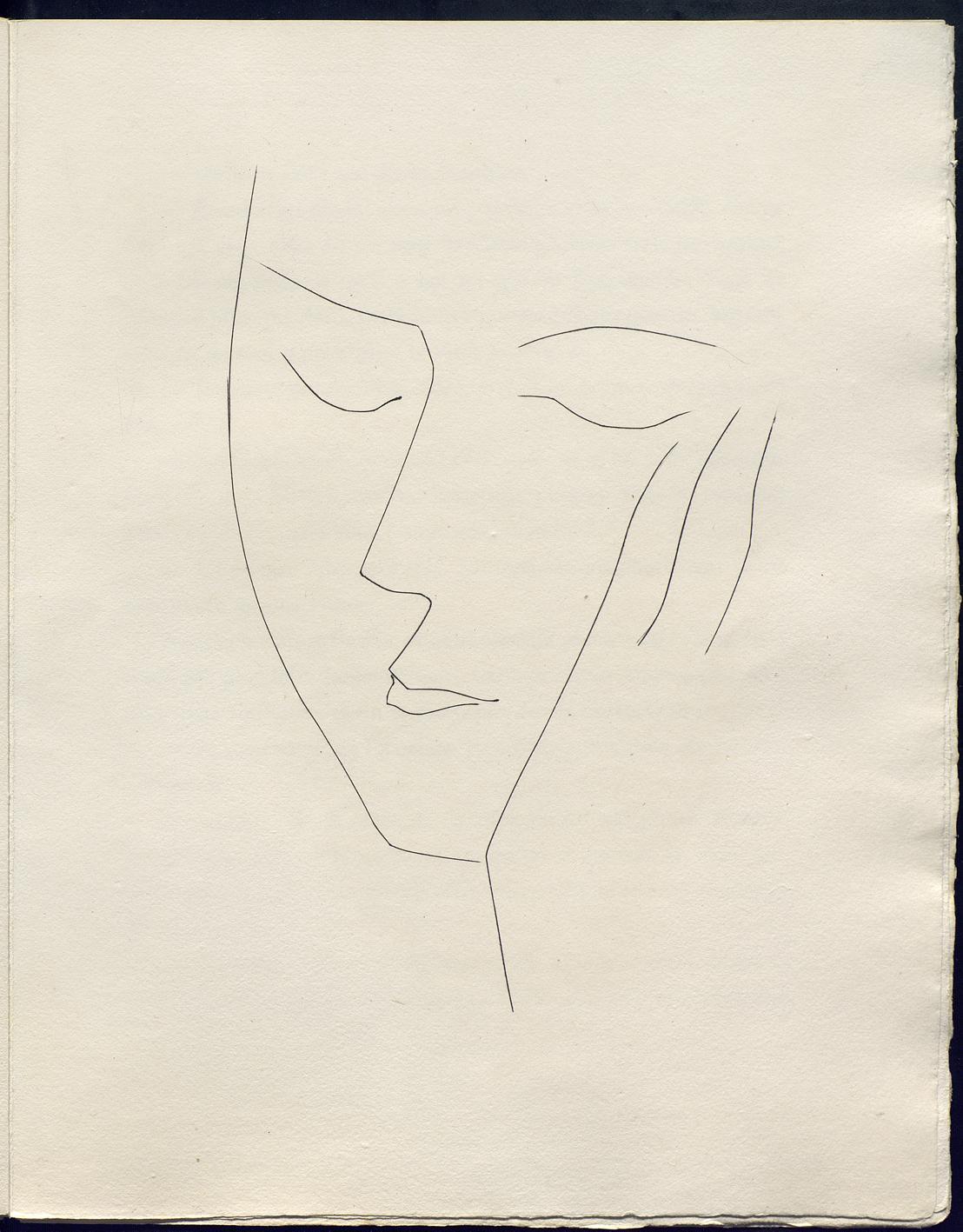 Line Art By Picasso : Picasso el eterno femenino en la fundación canal