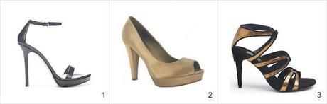 Consulta al estilista: combinar vestido dorado