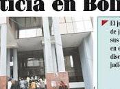 Administración Justicia Bolivia según
