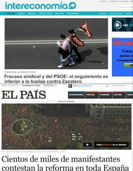 Periodismo esquirol (Javier Pérez de Albéniz, en Cuarto Poder 30-marzo-2012)