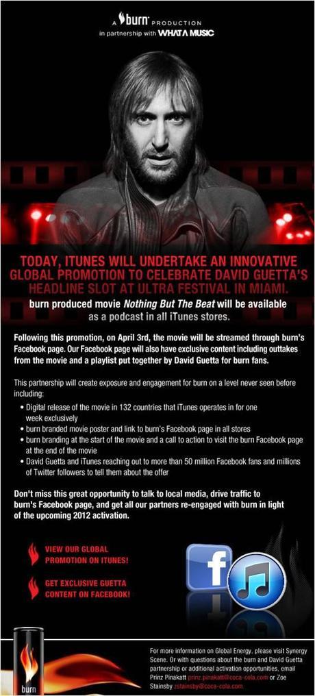 Burn & iTunes presentan: Nothing But The beat, una semana dedicada a David Guetta