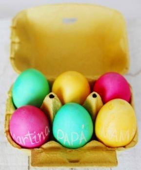 Cómo hacer unos Huevos de Pascua cargados de magia