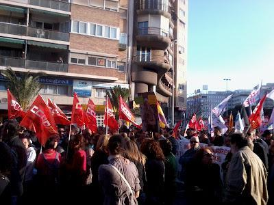 Huelga General 29M: Alicante