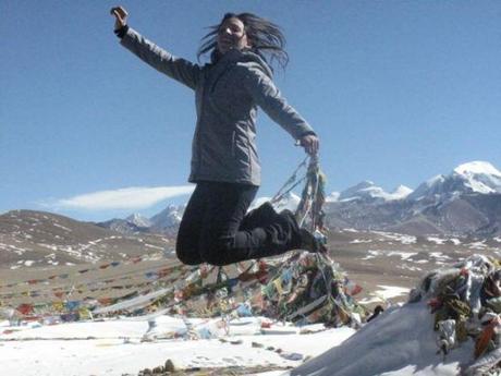 Daniela Zavala: the backpacker