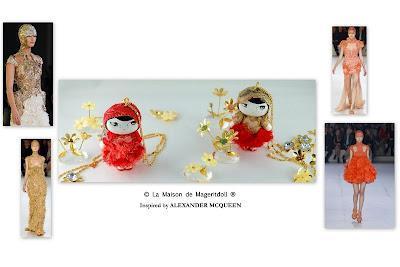 Inspiration by Alexander McQueen...Mageritdoll & Berryfields