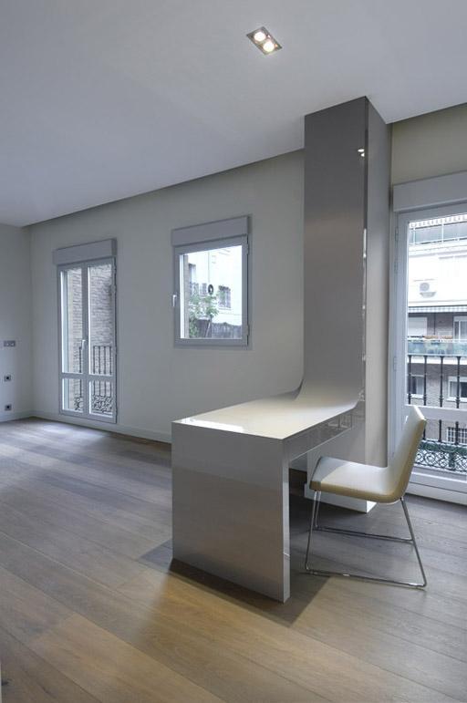 Interiorismo a cero para la ltima vivienda en planta - Les luxueux appartements serrano cero madrid ...