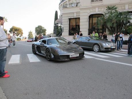 Coches en Mónaco...