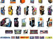 Póster maquinas árcade Atari