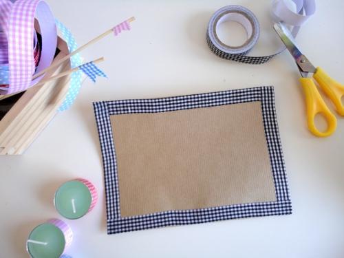 Decora con cintas adhesivas de tela paperblog for Cinta de tela adhesiva