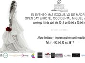 Open Bodas Hotel Occidental Miguel Angel Madrid.