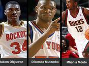 Olajuwon, Mutombo Mbah Mouté tres referentes baloncesto africano.