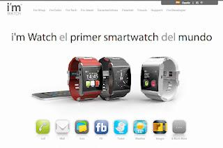 i'm Watch, el primer smartwatch del mundo