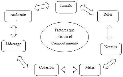 Factores que afectan el comportamiento de un grupo