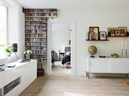 Mueble bajo en el sal n paperblog for Muebles bajos salon ikea