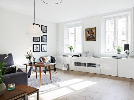 Mueble bajo en el sal n paperblog - Decoracion de salones estilo romantico ...