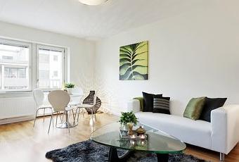 Decoraci n sencilla y funcional en un mini piso de 48 m for Decoracion piso mini
