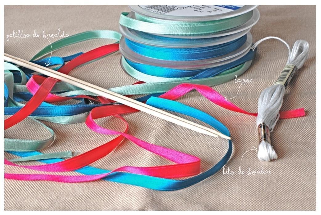 DIY. Cake topper con lazos/Ribbon cake topper