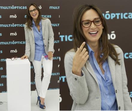 Tamara Falcó presenta la nueva colección Mó by Multiópticas