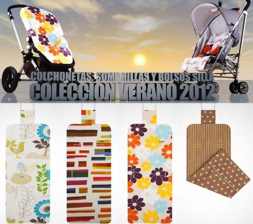Colchonetas de sillas de paseo verano 2012 paperblog - Colchonetas para sillas de paseo originales ...