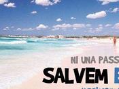 "Cadena Humana Trenc Mallorca. próximo abril. Salvemos Trenc"""